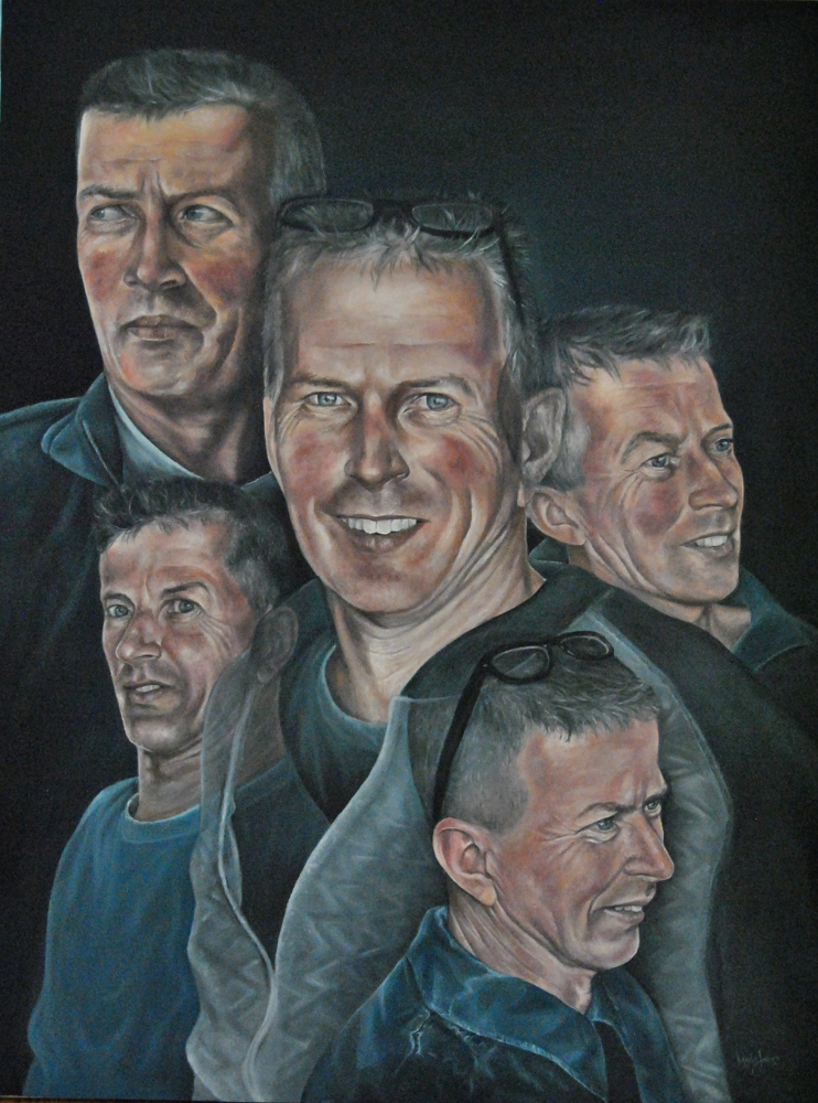 Marlou Jaspers Art - Portrait oil